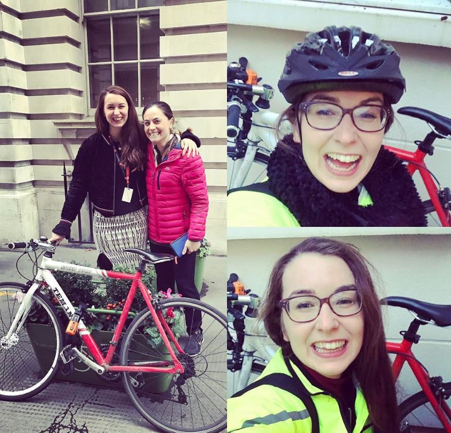 Guest blog: Emma and her firstride