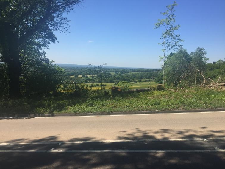 Climbing the hills in Sevenoaks